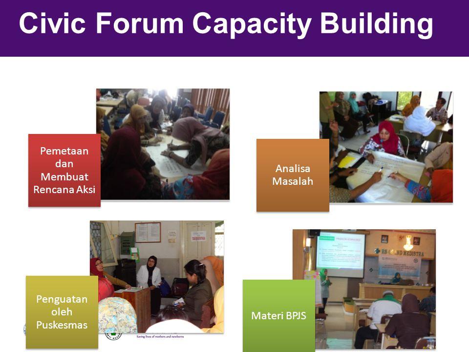Civic Forum Capacity Building