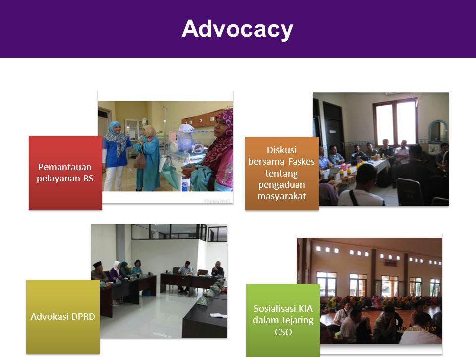Advocacy Diskusi bersama Faskes tentang pengaduan masyarakat