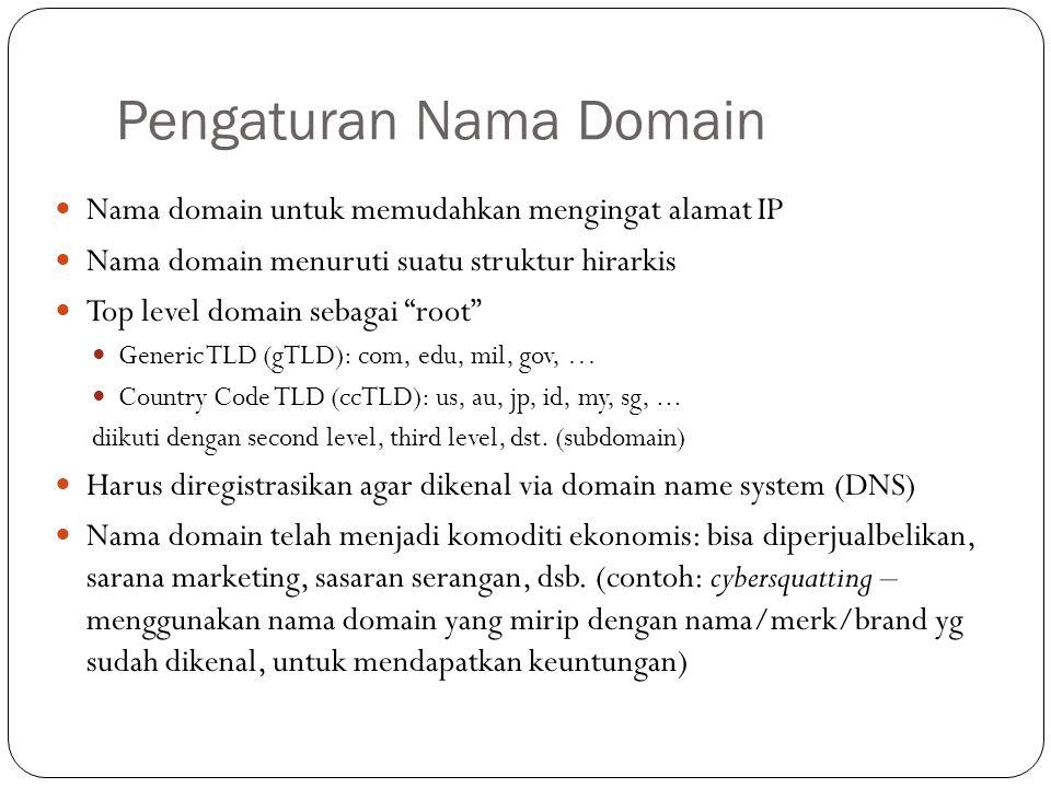 Pengaturan Nama Domain