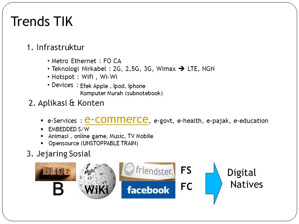 B Trends TIK WiKi FS Digital Natives FC 1. Infrastruktur