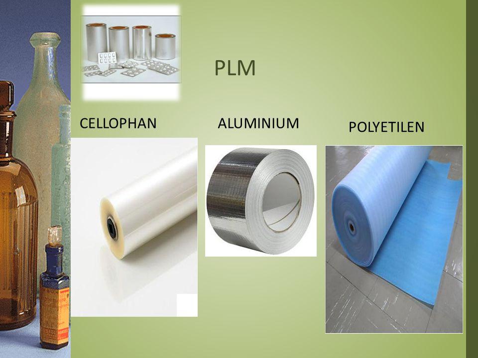 PLM Cellophan Aluminium Polyetilen