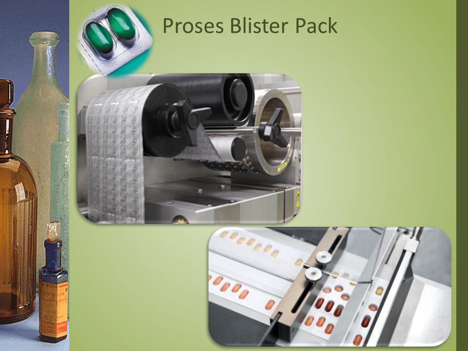 Proses Blister Pack