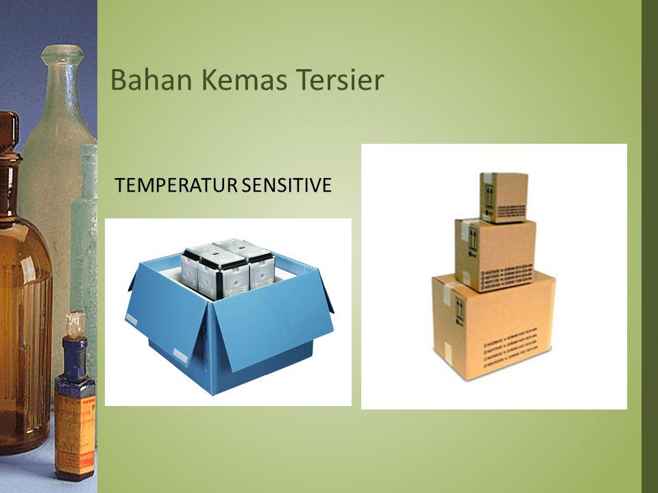Bahan Kemas Tersier Temperatur Sensitive