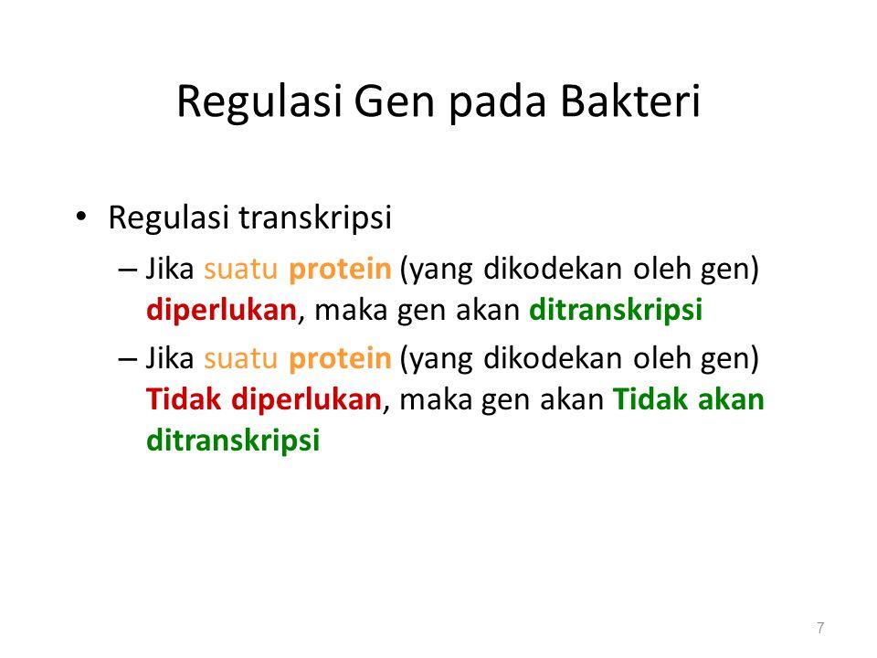 Regulasi Gen pada Bakteri