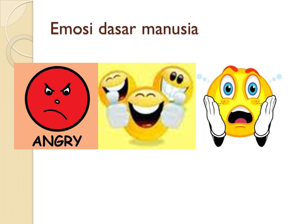 Emosi dasar manusia