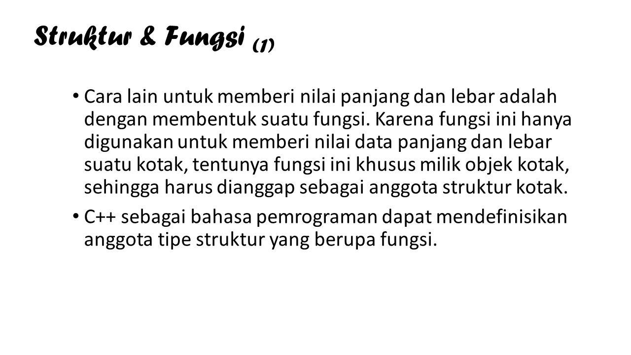 Struktur & Fungsi (1)