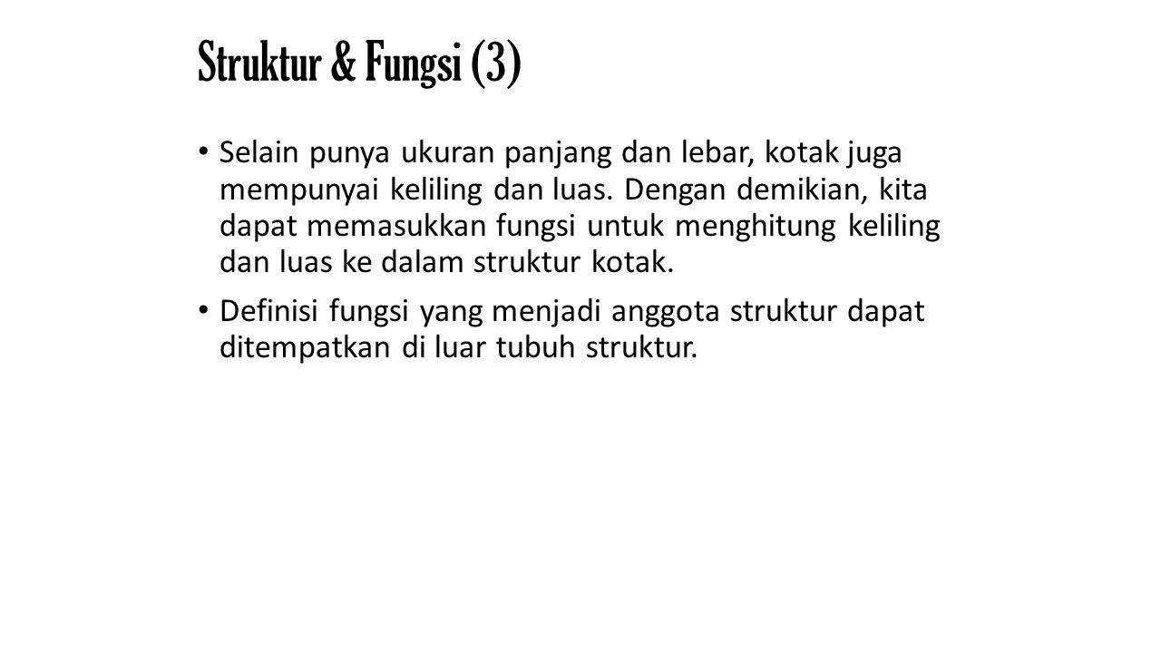 Struktur & Fungsi (3)