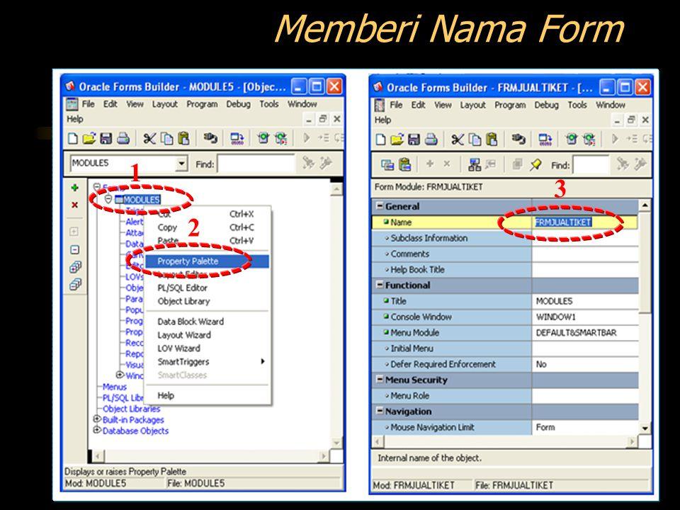 Memberi Nama Form 1 3 2