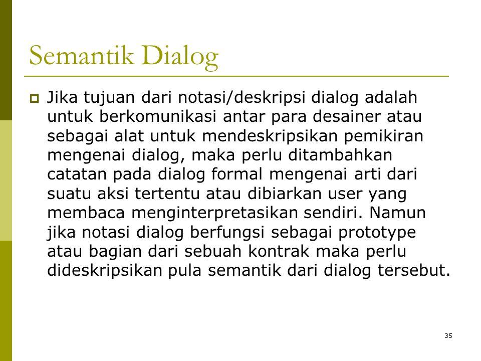 Semantik Dialog