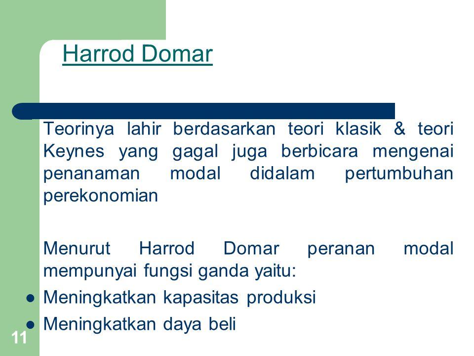Harrod Domar