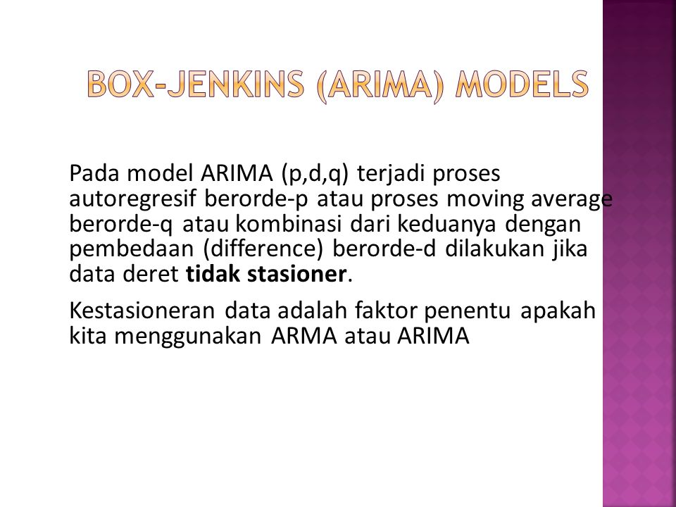 Box-Jenkins (ARIMA) Models