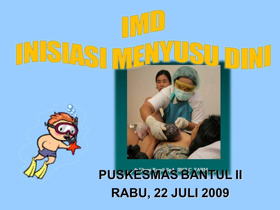 PUSKESMAS BANTUL II RABU, 22 JULI 2009