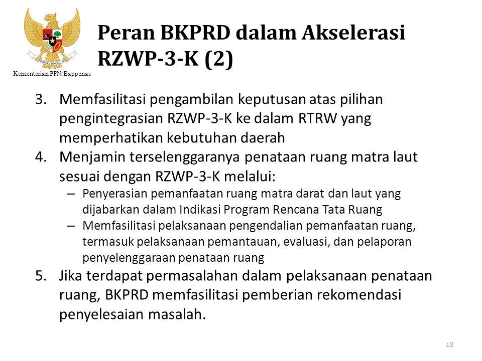 Peran BKPRD dalam Akselerasi RZWP-3-K (2)