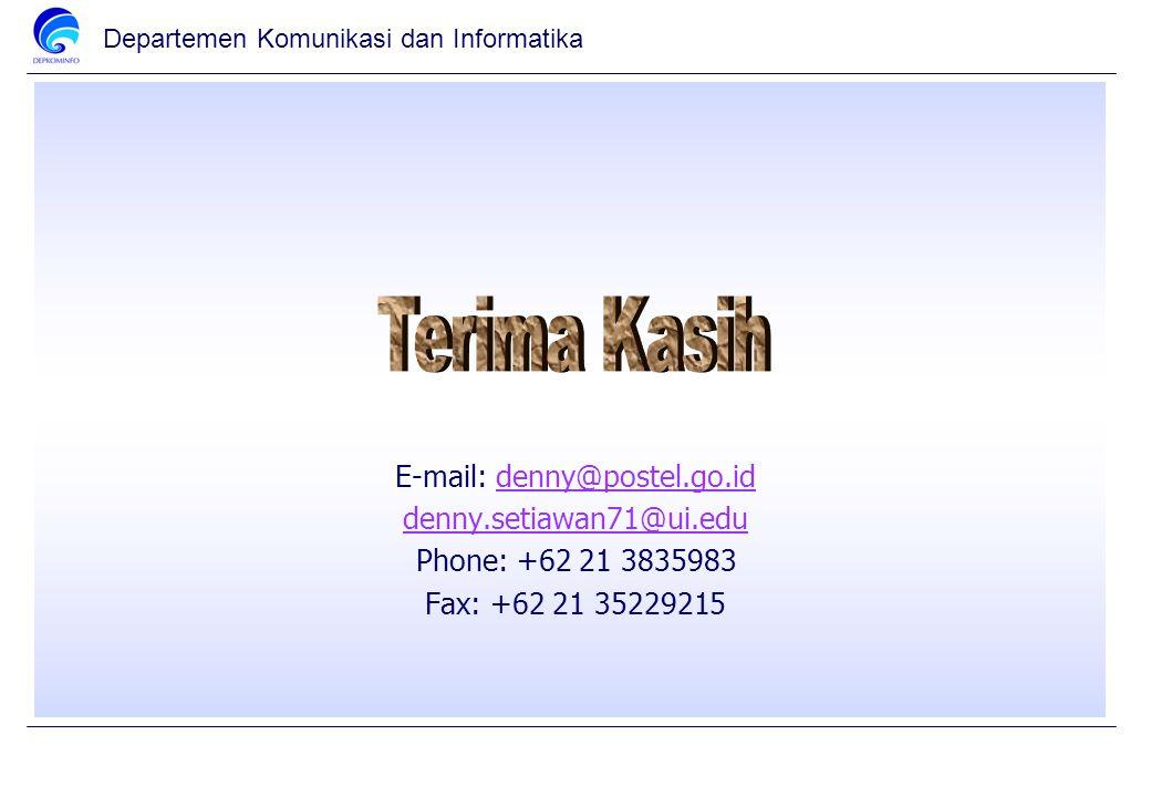 E-mail: denny@postel.go.id