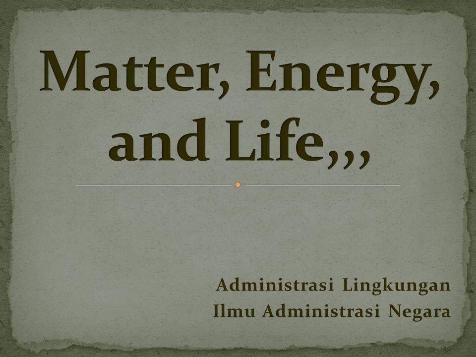 Administrasi Lingkungan Ilmu Administrasi Negara