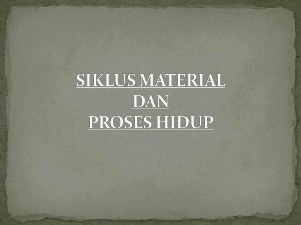 SIKLUS MATERIAL DAN PROSES HIDUP