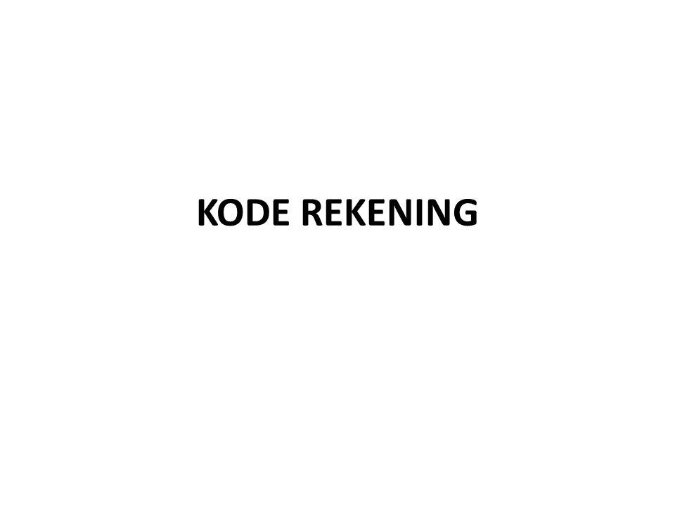 KODE REKENING