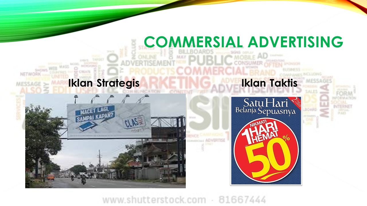 COMMERSIal advertising