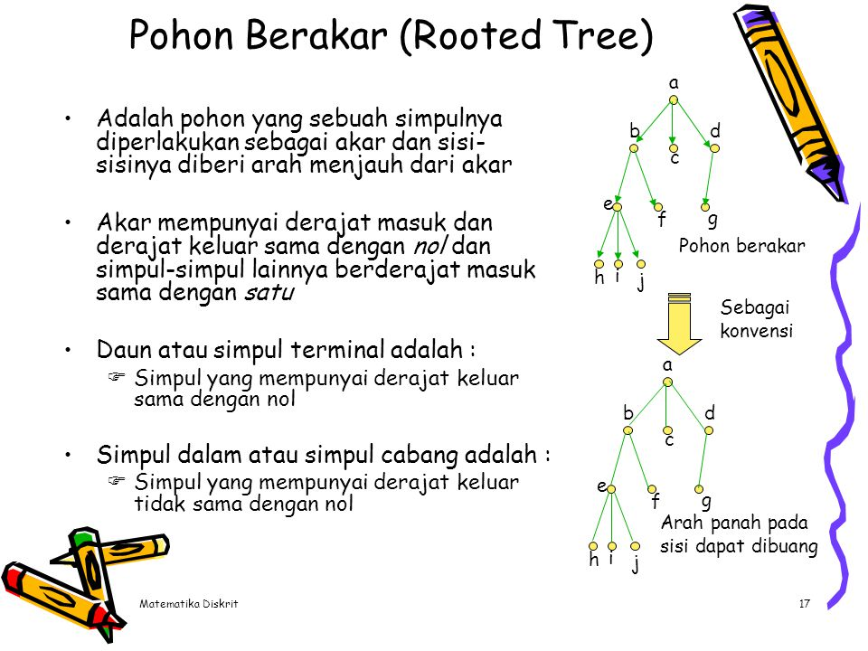 Pohon Berakar (Rooted Tree)