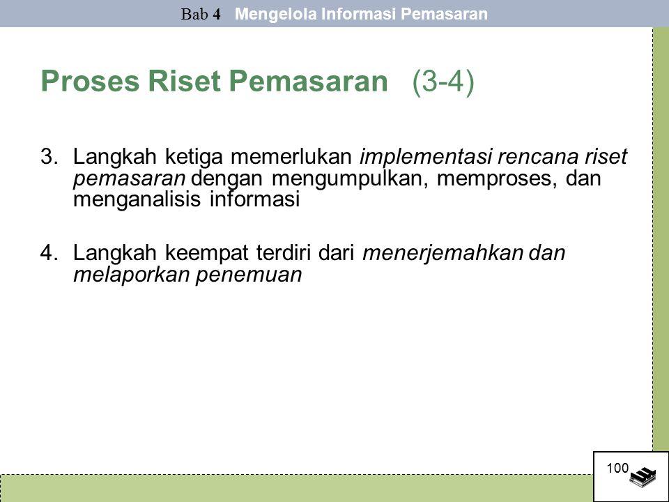 Proses Riset Pemasaran (3-4)