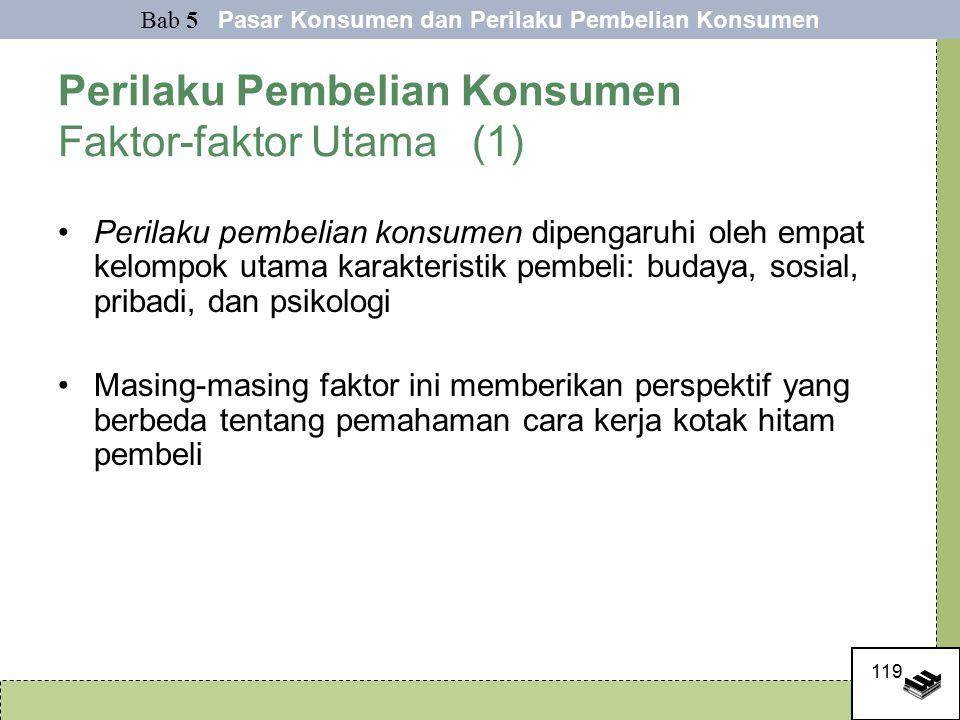 Perilaku Pembelian Konsumen Faktor-faktor Utama (1)