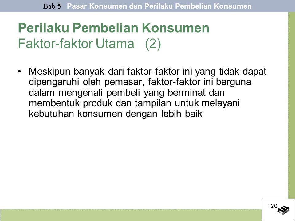 Perilaku Pembelian Konsumen Faktor-faktor Utama (2)