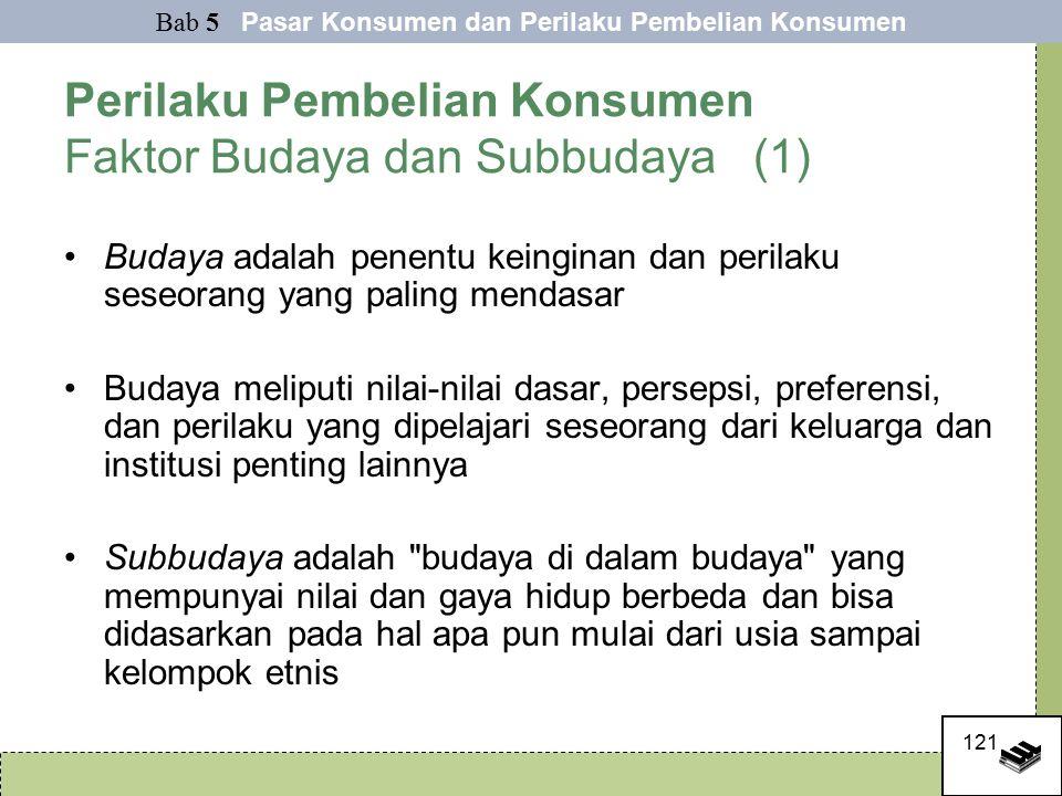 Perilaku Pembelian Konsumen Faktor Budaya dan Subbudaya (1)