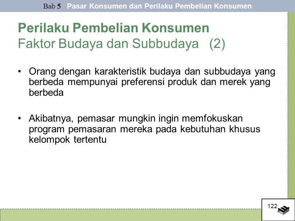 Perilaku Pembelian Konsumen Faktor Budaya dan Subbudaya (2)