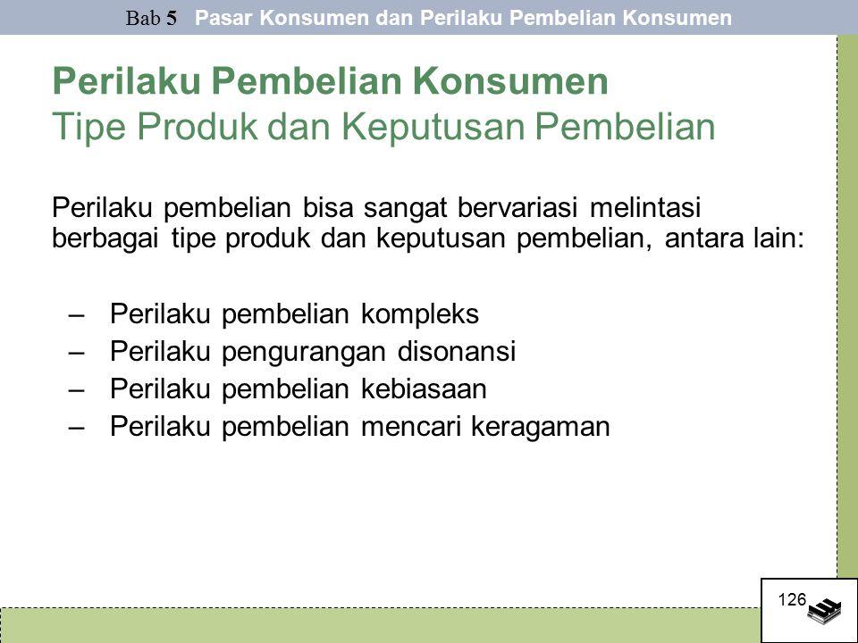 Perilaku Pembelian Konsumen Tipe Produk dan Keputusan Pembelian