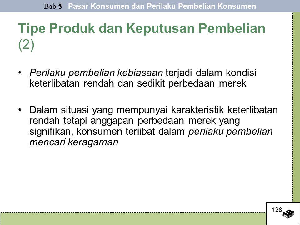 Tipe Produk dan Keputusan Pembelian (2)