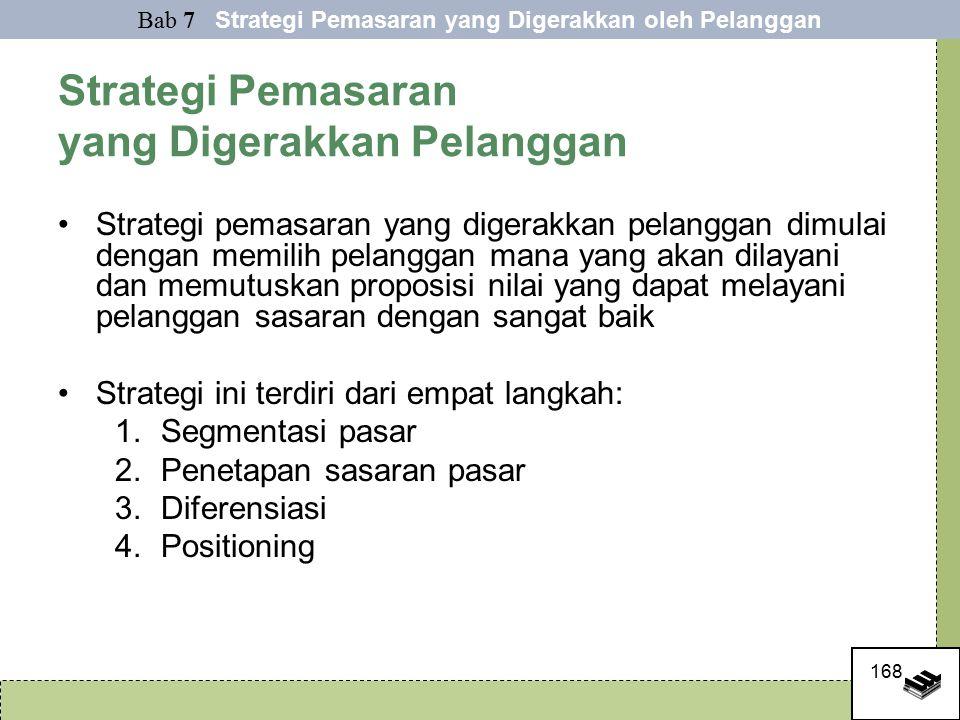 Strategi Pemasaran yang Digerakkan Pelanggan