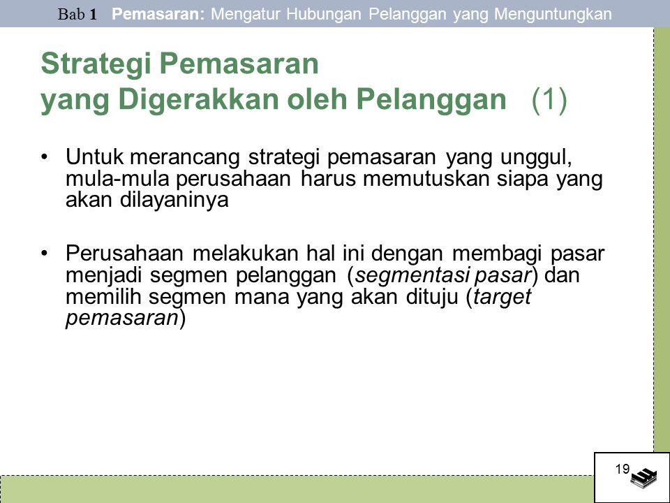 Strategi Pemasaran yang Digerakkan oleh Pelanggan (1)