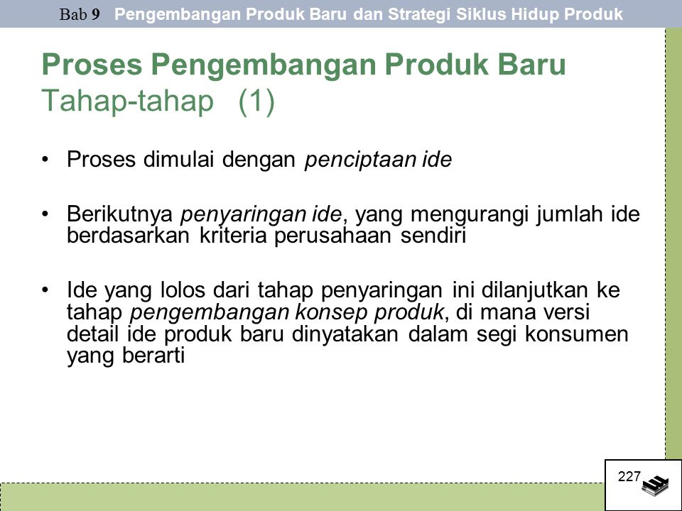 Proses Pengembangan Produk Baru Tahap-tahap (1)