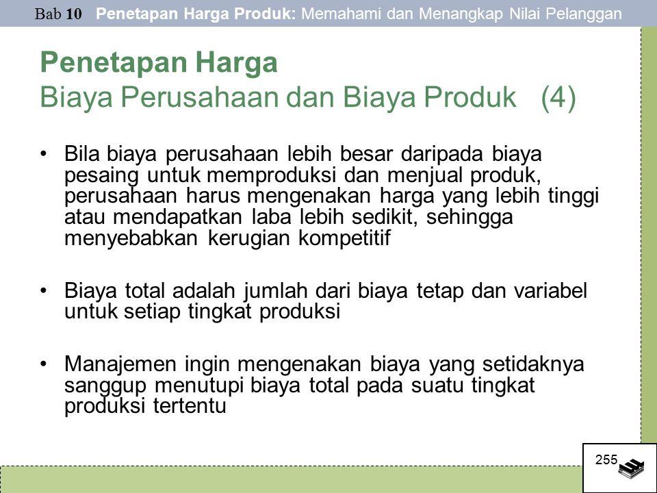 Penetapan Harga Biaya Perusahaan dan Biaya Produk (4)