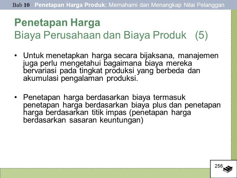 Penetapan Harga Biaya Perusahaan dan Biaya Produk (5)