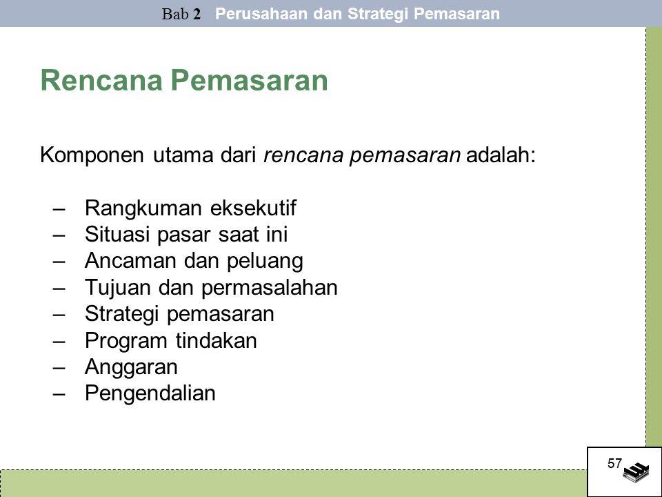 Bab 2 Perusahaan dan Strategi Pemasaran