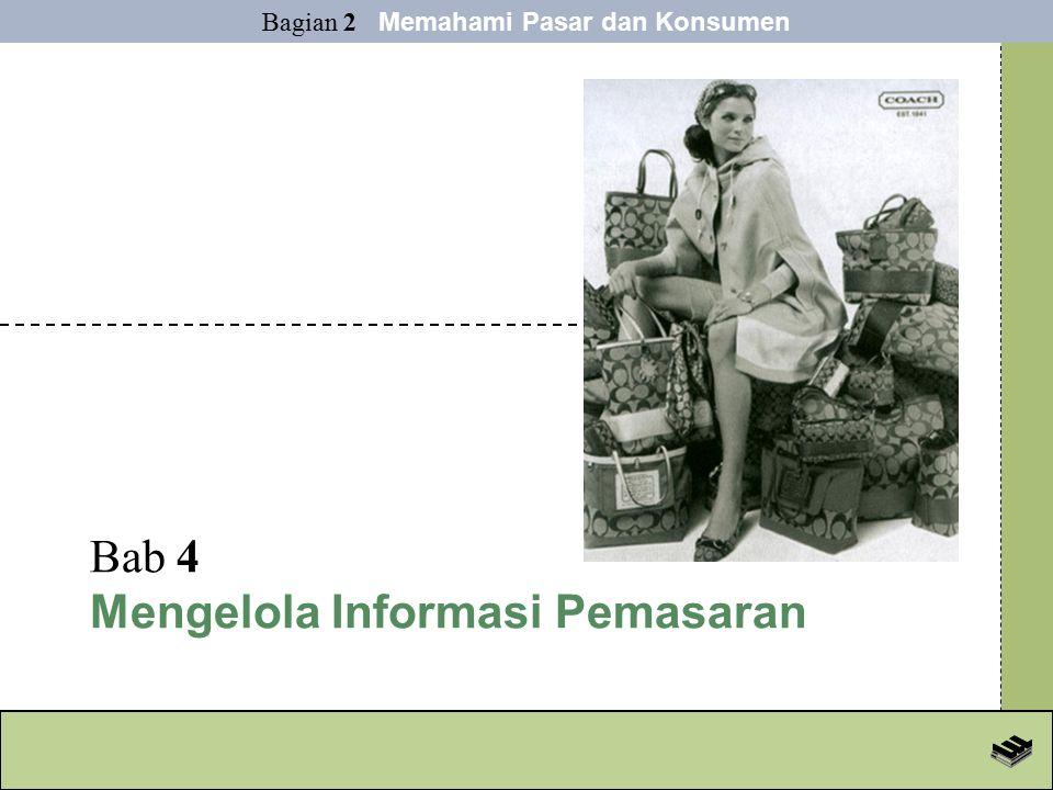 Bab 4 Mengelola Informasi Pemasaran