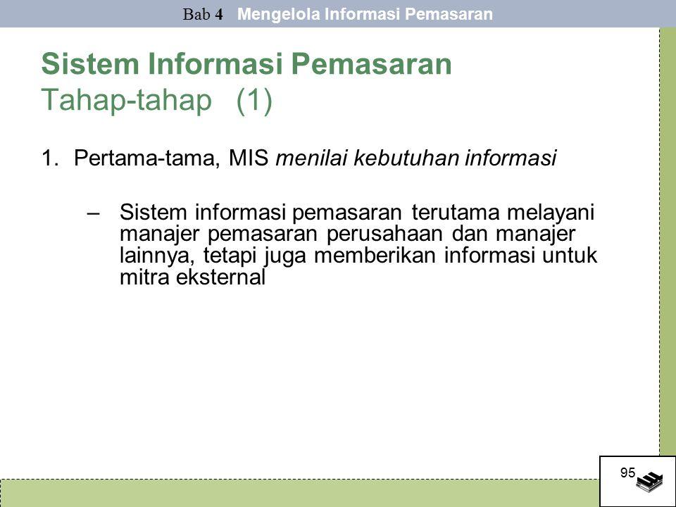 Sistem Informasi Pemasaran Tahap-tahap (1)
