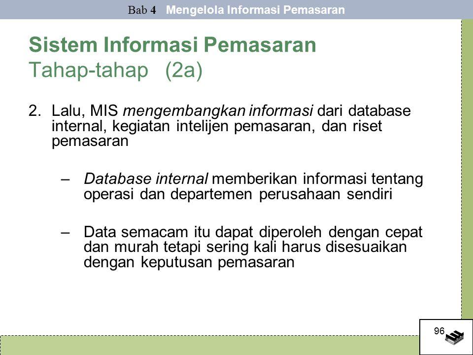 Sistem Informasi Pemasaran Tahap-tahap (2a)