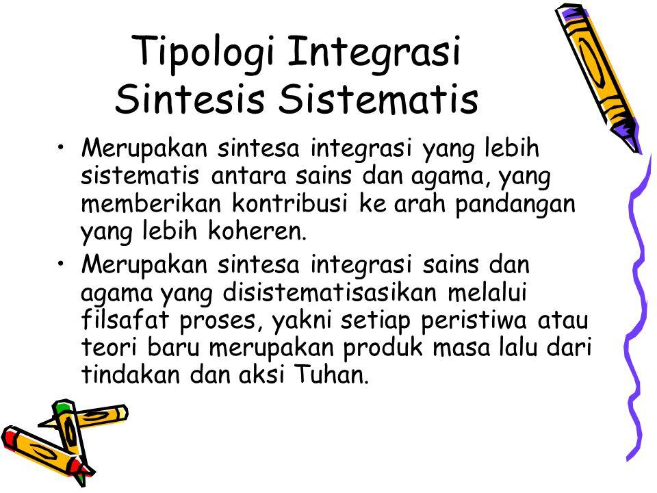 Tipologi Integrasi Sintesis Sistematis