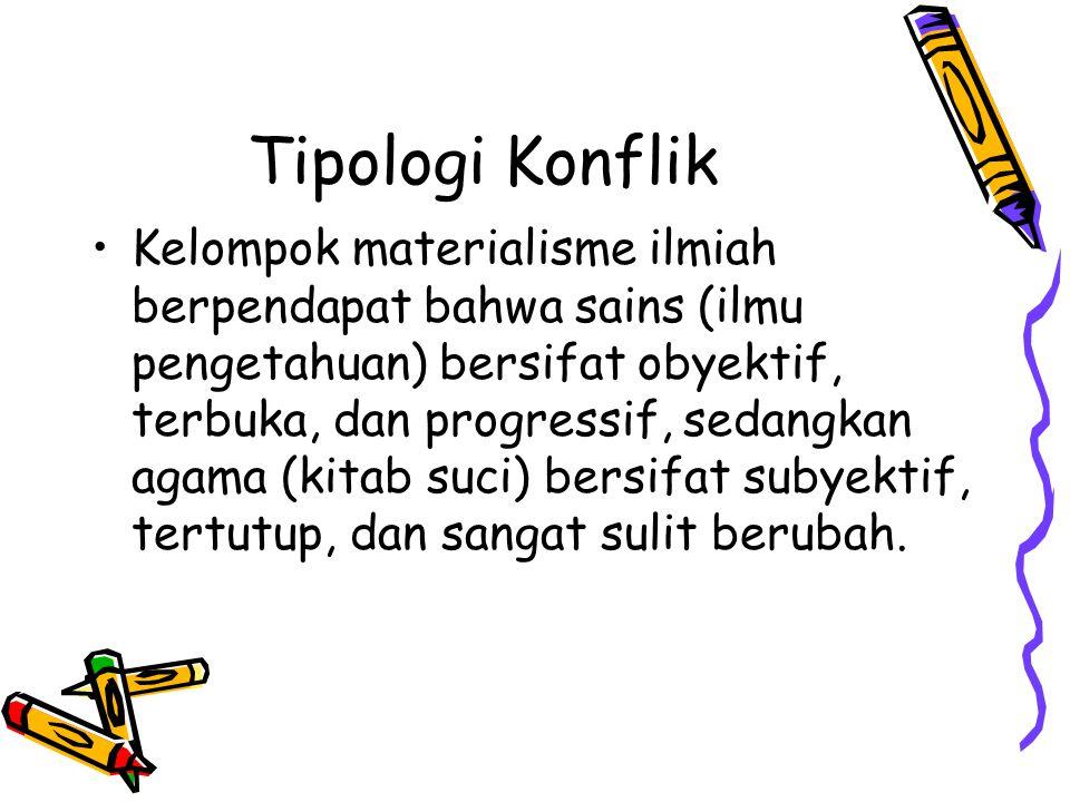 Tipologi Konflik