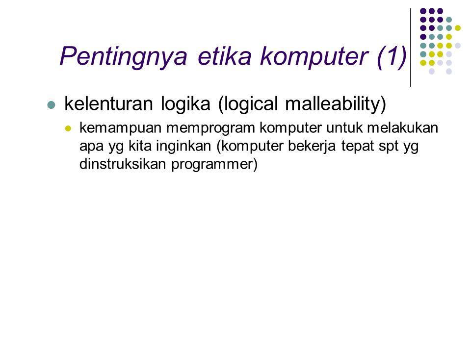 Pentingnya etika komputer (1)