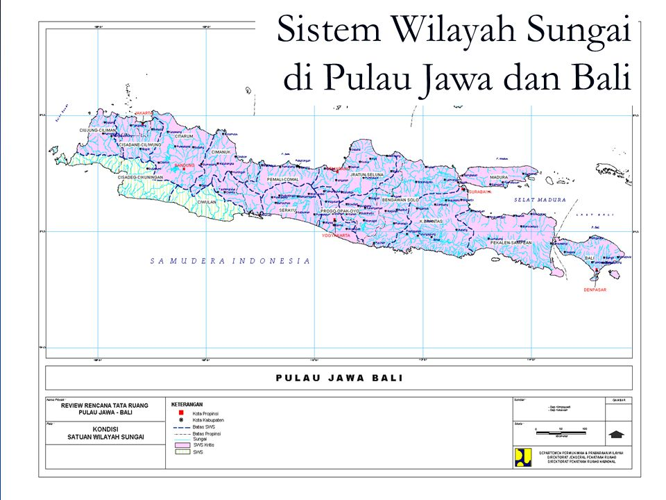 Sistem Wilayah Sungai di Pulau Jawa dan Bali