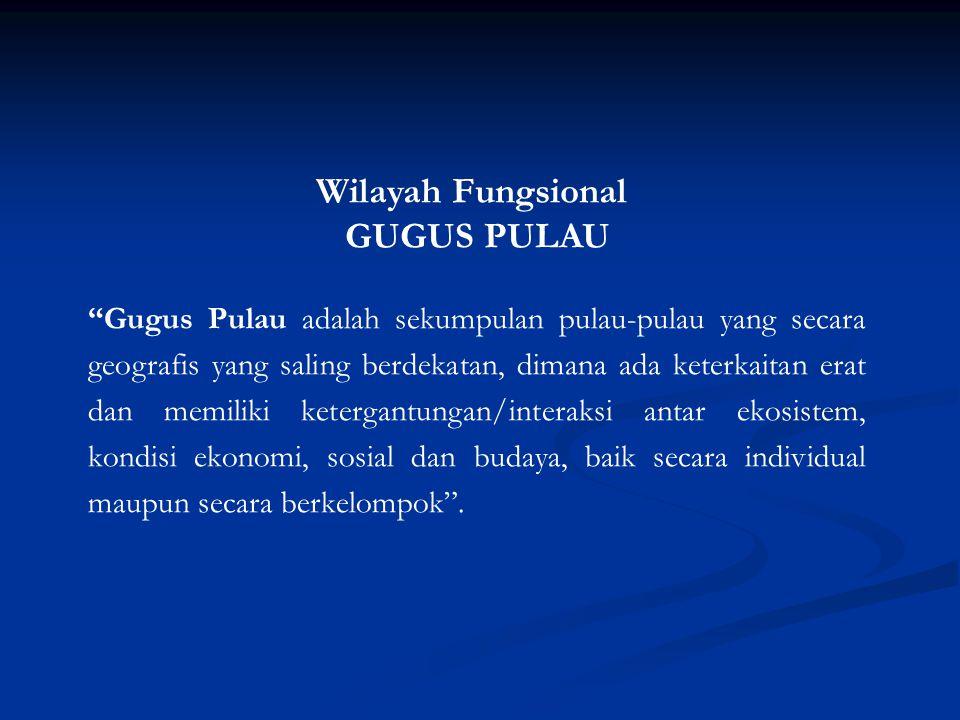Wilayah Fungsional GUGUS PULAU