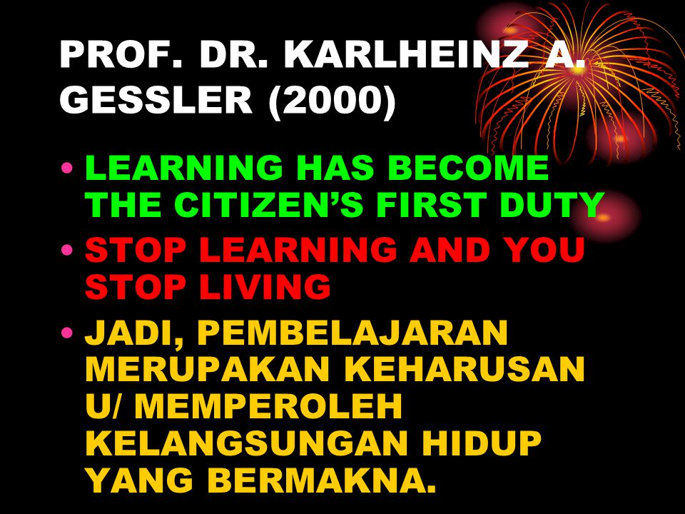 PROF. DR. KARLHEINZ A. GESSLER (2000)