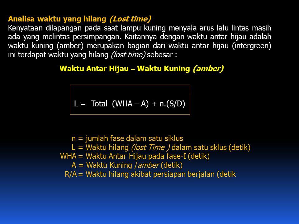 L = Total (WHA – A) + n.(S/D)