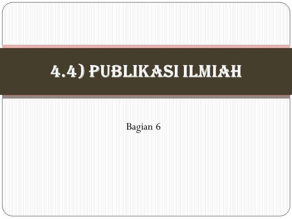 4.4) PUBLIKASI ILMIAH Bagian 6