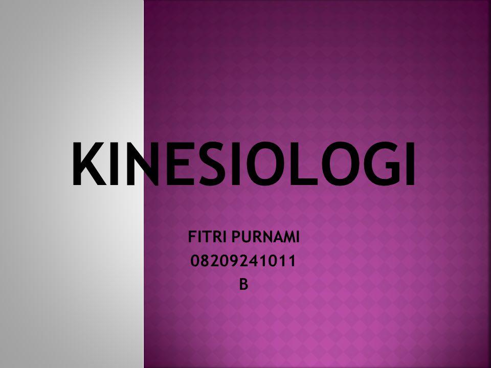 KINESIOLOGI FITRI PURNAMI 08209241011 B