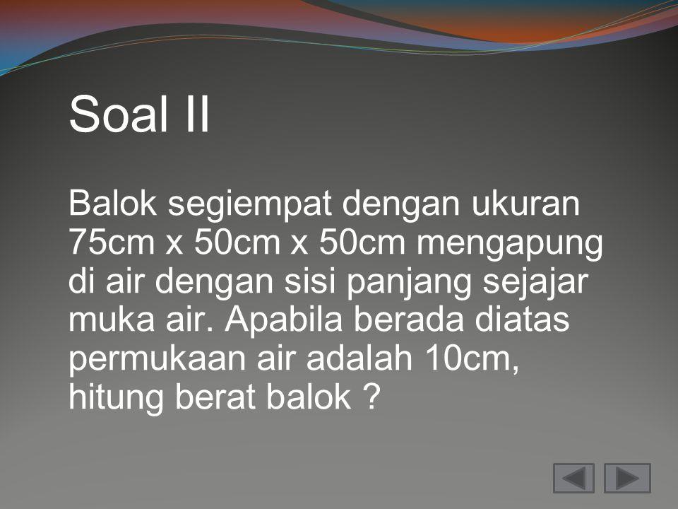 Soal II