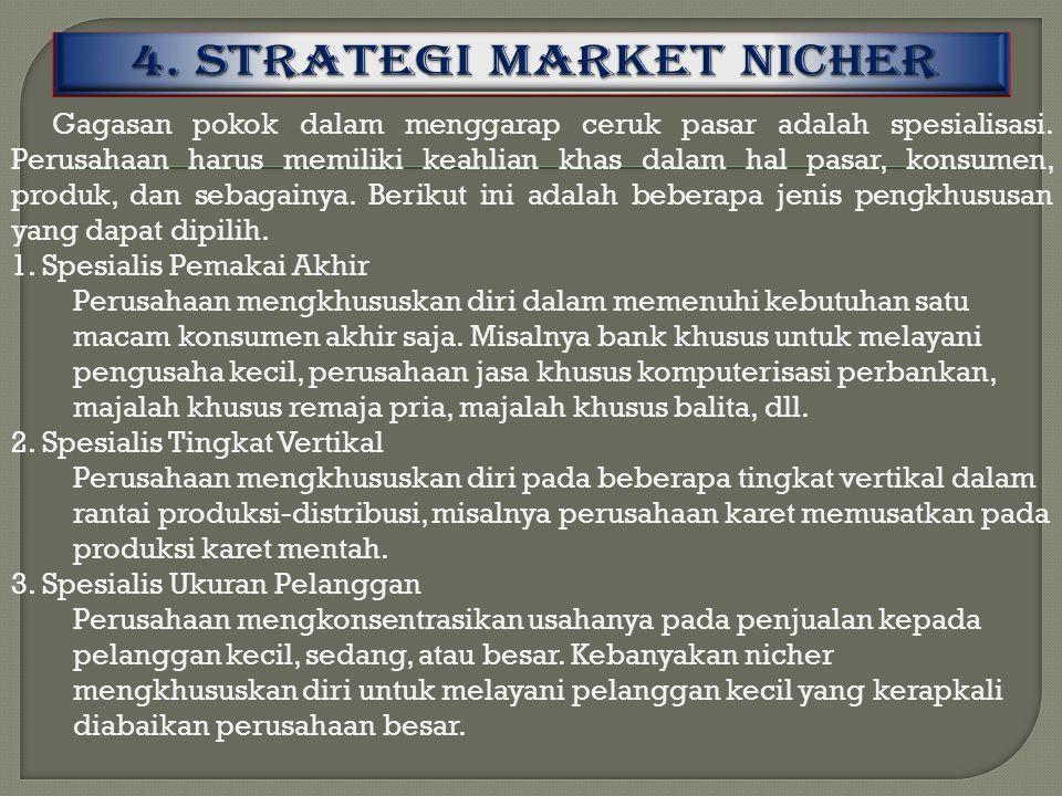 4. STRATEGI MARKET NICHER